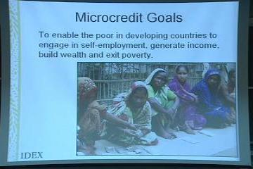 Lecture: Philanthropy, Non-Profits, and Global Poverty, Part II