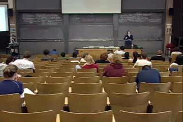 Lecture: Population Growth I