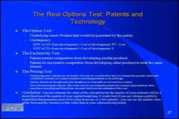 Lecture: Option Pricing Redux