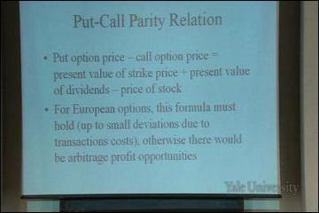 Lecture: Options Markets