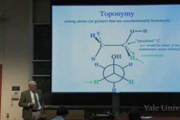 Lecture: Stereotopicity and Baeyer Strain Theory