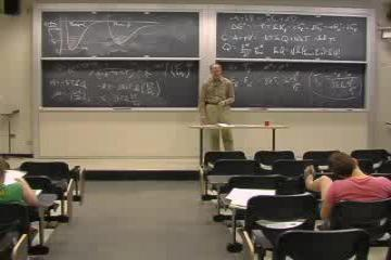Lecture: Applications: Chemical and Phase Equilibria