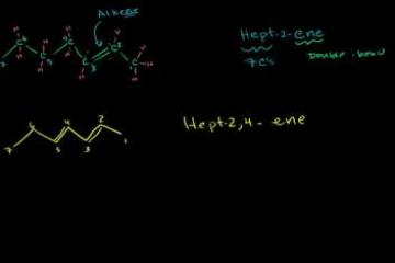Lecture: Naming Alkenes Examples